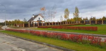 Вид на поселок от офиса продаж